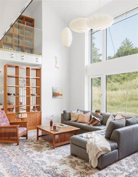 joslin passive house contemporary living room