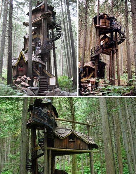 15 more terrific towering tree houses british