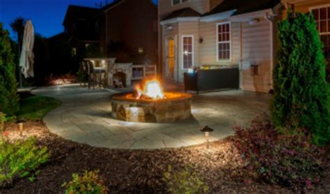 patio flood lights warm up your backyard with light outdoor lighting