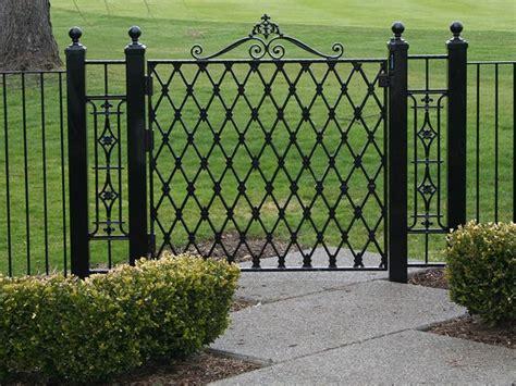 Modern Wrought Iron Gates And Fences Wrought Iron Modern Fence Ideas