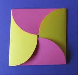how to make an envelope with paper how to make an envelope from circles