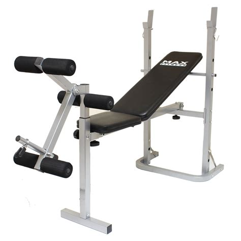 legacy ses weight bench max fitness folding weight bench home gym exercise lift