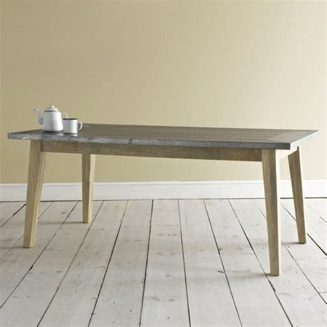 zinc top dining room table dining table best zinc top dining table design zinc