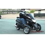 Three Wheels Gas Scooter MC D150TKA Sunny 150cc 3