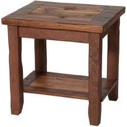 Rustic End Tables Free Rustic End Table Plans Plans Free