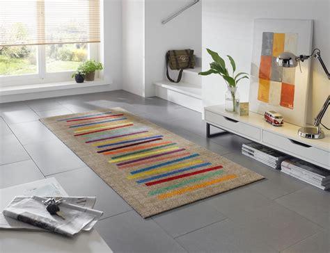 wash mixed stripes 80 x 200 cm waschbarer teppich - Teppiche 80 X 200