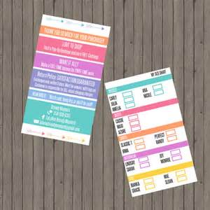 standard business card size vistaprint lularoe business card size chart by thecraftyelephant7 on etsy