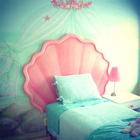 mermaid themed bedroom so sea dreams and siren