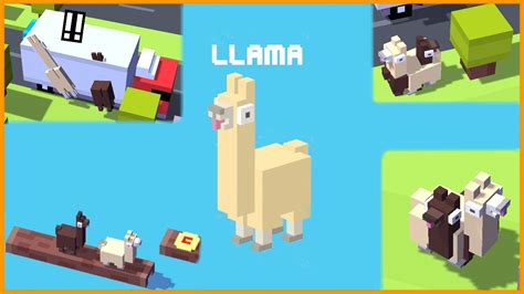in crossy road how do you get the new mystery chracters llamas crossy road 2 llamas how long can you keep