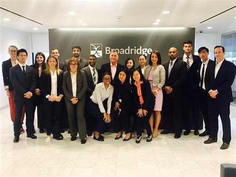 Nyit Mba Finance by Dr Diamando Afxentiou S Students Present For Broadridge