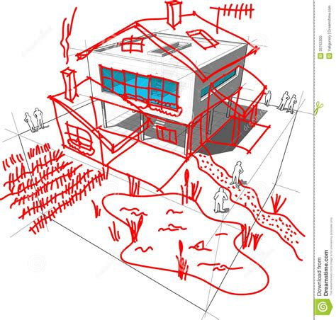 home design diagram modern house redesign diagram stock photo image 35763300