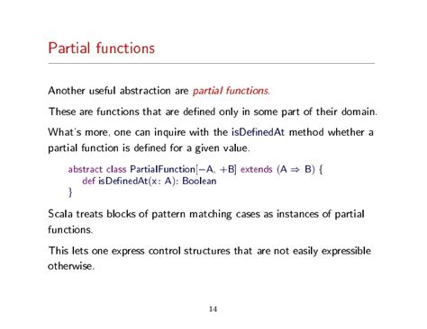 scala pattern matching partial functions scala google