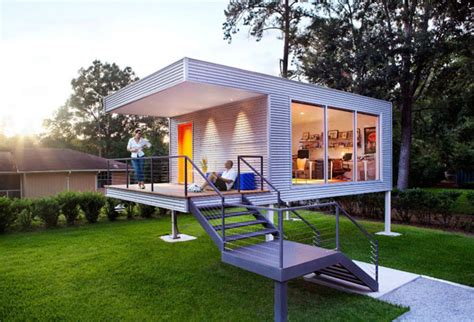 modern tiny homes modern tiny house used as office the think tank house