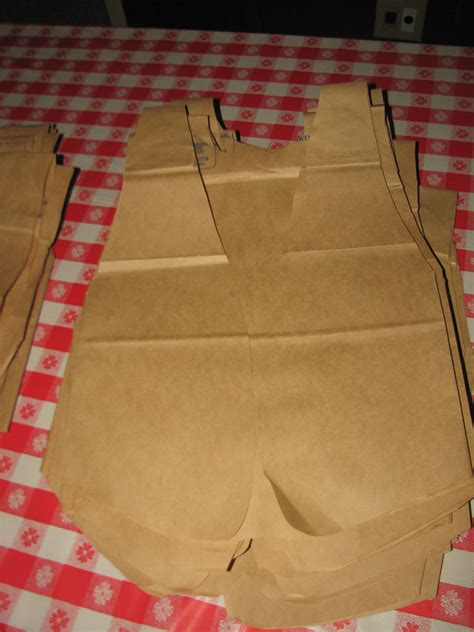 How To Make A Paper Bag Vest - realistic idealist blue and gold 2012