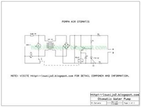 rangkaian kapasitor pada pompa air cavo elettrico rangkaian elektronika pompa air otomatis
