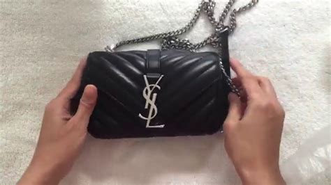 unboxing ysl saint laurent baby monogram matelasse bag
