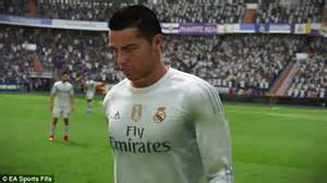 how to get ronaldos hair fifa 15 watch cristiano ronaldo and real madrid stars get in the
