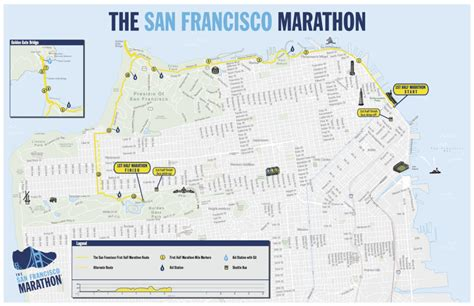 san francisco race map san francisco 1st half marathon 2014 2015 date