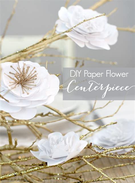 Wedding Flower Paper Centerpiece by Paper Flower Centerpiece