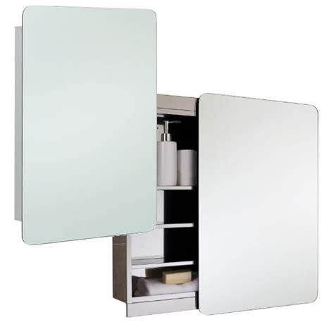 sliding door mirrored bathroom cabinet rak slide stainless steel 500 x 700mm slider door mirror