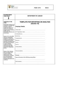 Section 12 Form by Eea 12 Form Template For Reporting On Analysis Section