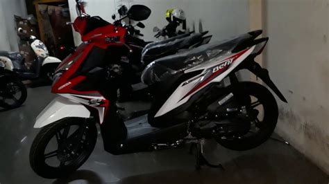 Honda Beat Sporty tilan stripping baru honda beat sporty cbs iss 2018