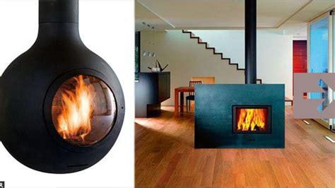 feu de cheminee sur tv cheminee ethanol chauffe une