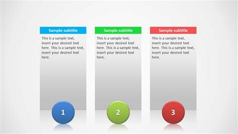 3 column layout web design 3 columns slide design for powerpoint slidemodel