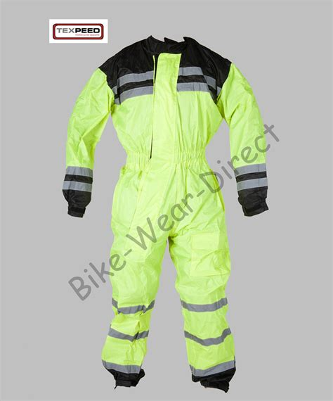 waterproof cycling suit hi vis high visibility waterproof motorcycle bike cycling