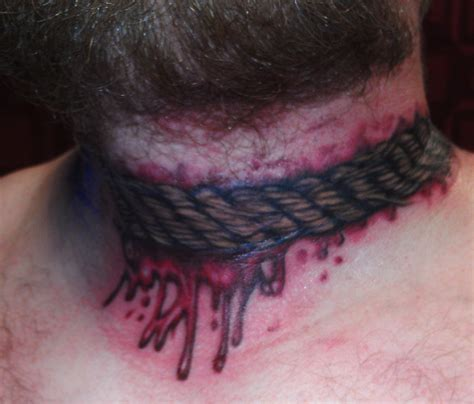 cut tattoo horror tattoos and designs page 80