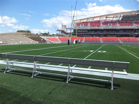 football benches we equip the ottawa redblacks with new player s benches