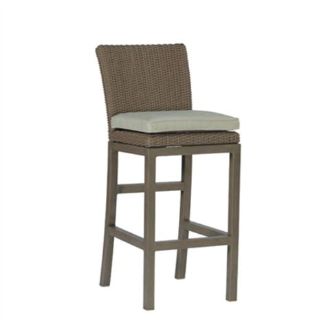 bar stool outdoor furniture summer classics 3748 rustic outdoor bar stool discount