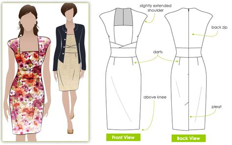 design a dress pattern stylearc heather dress