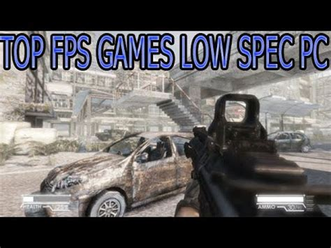 best ftp fps top 7 fps with low requirements pc