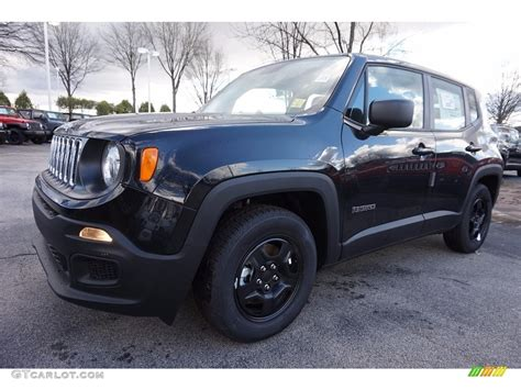 black jeep renegade 2016 black jeep renegade sport 111010427 gtcarlot com