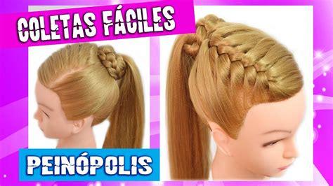6 peinados faciles rapidos y bonitos para ir a youtube peinados bonitos faciles y rapidos para ni 241 as trenzas