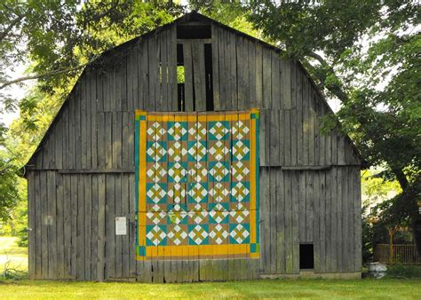 Barn Quilt by Vertical Floor Barn Quilts America Openhouse