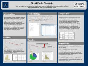 poster presentation template ppt 36x48 poster template powerpoint presentation id