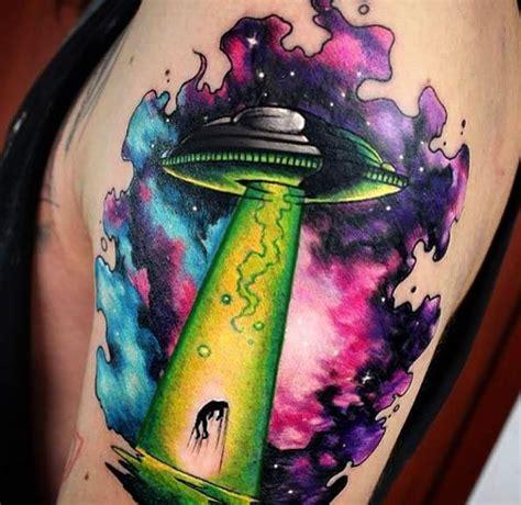 new school alien tattoo best 25 ufo tattoo ideas on pinterest alien tattoo