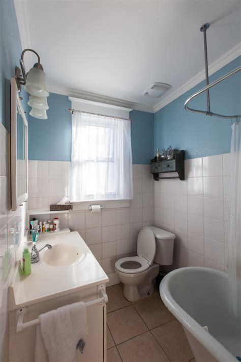 hgtv small bathrooms makeovers before love it or list it a strange layout and dated