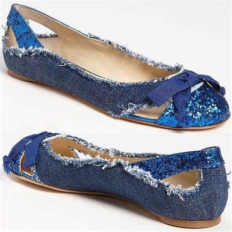 Flat Shoes Denim Wanita denim flats pumps and boots from taccetti