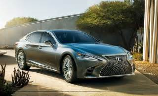 Ls India by Lexus To Launch Flagship Sedan Ls 500h India In January 2018