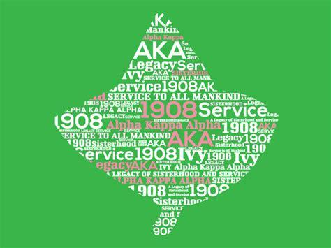 Aka Background Check 187 Alpha Kappa Alpha Word