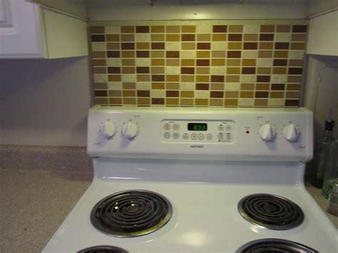 temporary kitchen backsplash pin by huggins on renting style
