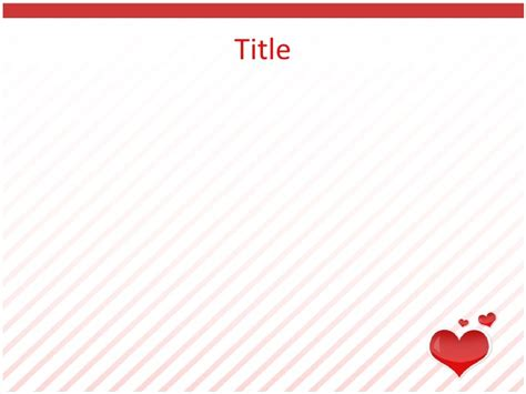 valentines card powerpoint template free powerpoint templates valentines day