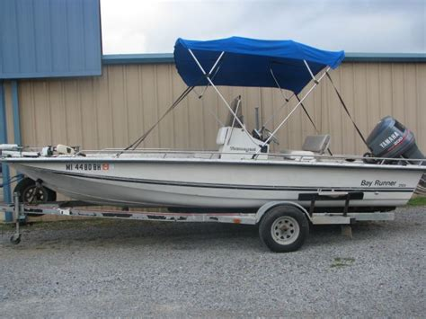 avenger bay boats 1993 bay runner by avenger bay boat for sale in louisiana