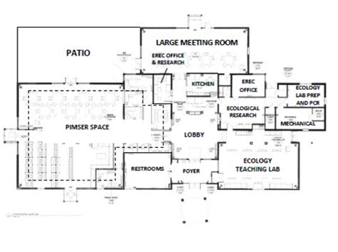 facility floor plan erec facilities
