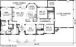 Rectangle House Plans One Story by Ranch House Plan 73152 House Plans Nooks And Breakfast