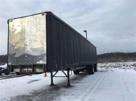 flatbed curtain side trailers 2000 reitnouer flatbed curtain side trailer for sale
